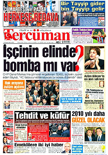 Gazete Manşetleri (25 Aralık) galerisi resim 17