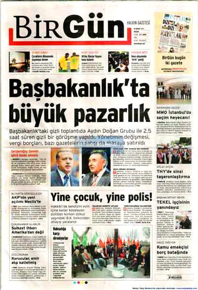 Hangi gazete neyi manşete çekti? galerisi resim 2