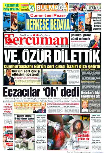 Türk basınında özür manşetleri! galerisi resim 21
