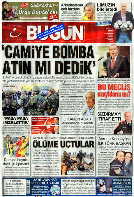 Gazetelerin 'Allah Allah' manşetleri galerisi resim 11