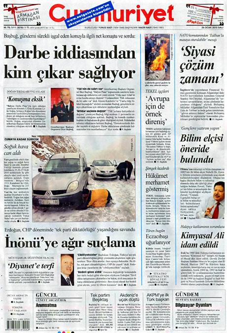 Gazetelerin 'Allah Allah' manşetleri galerisi resim 15