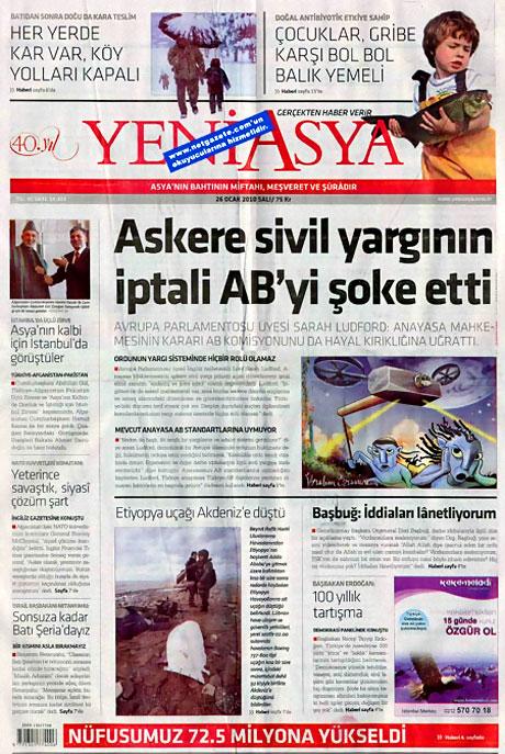Gazetelerin 'Allah Allah' manşetleri galerisi resim 24