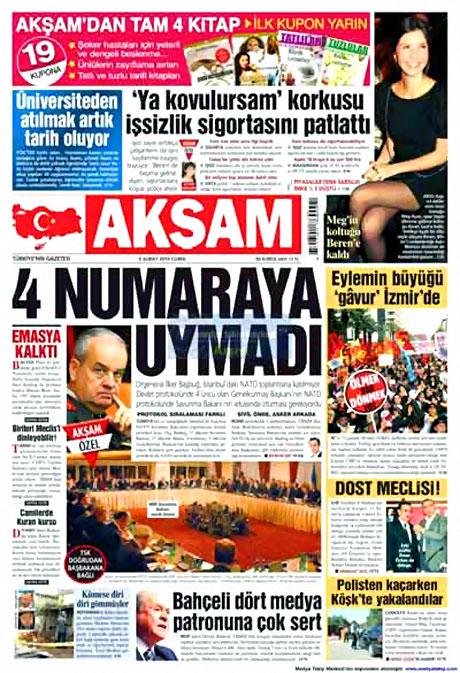 Cübbeliyi manşete hangi gazete çekti? galerisi resim 1