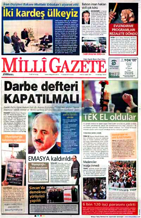 Cübbeliyi manşete hangi gazete çekti? galerisi resim 10