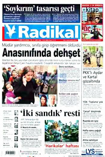 Kürtçe başlık atan milliyetçi gazete! galerisi resim 9