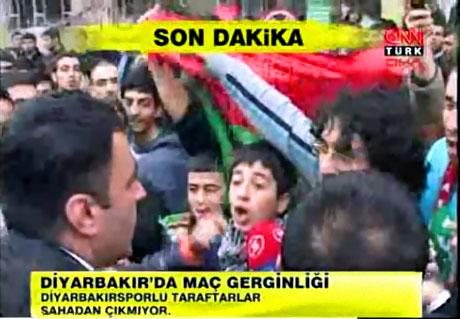 Diyarbakır Bursa maçında olaylar çıktı! galerisi resim 19