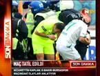 Diyarbakır Bursa maçında olaylar çıktı!