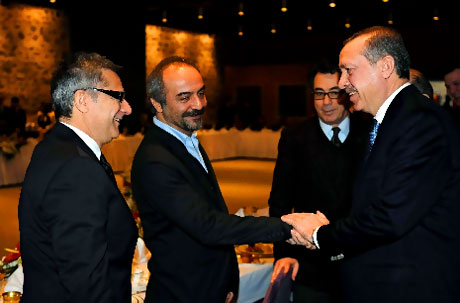 Erdoğan sanatçılarla açılımı konuştu galerisi resim 7