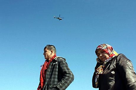 Diyarbakır'da Newroz ateşi yakıldı galerisi resim 30