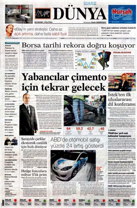 Yeniçağ'dan Erdoğan'ı kızdıran manşet galerisi resim 1