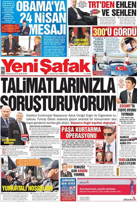 Yeniçağ'dan Erdoğan'ı kızdıran manşet galerisi resim 17
