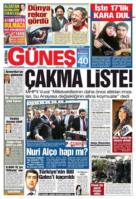 Yeniçağ'dan Erdoğan'ı kızdıran manşet galerisi resim 2