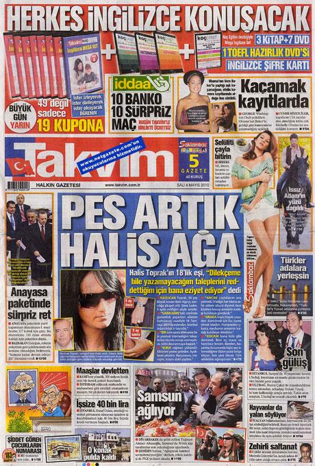 Gazetelerden çarpıcı FİRE manşetleri galerisi resim 17
