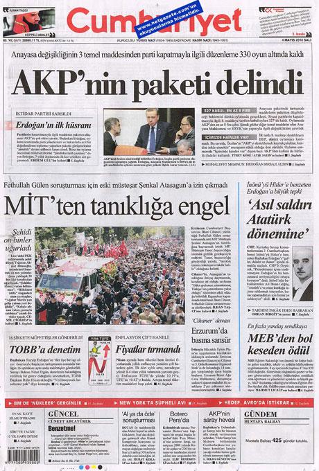 Gazetelerden çarpıcı FİRE manşetleri galerisi resim 4