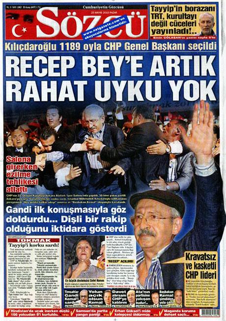 Gazetelerin Kılıçdaroğlu manşetleri galerisi resim 1
