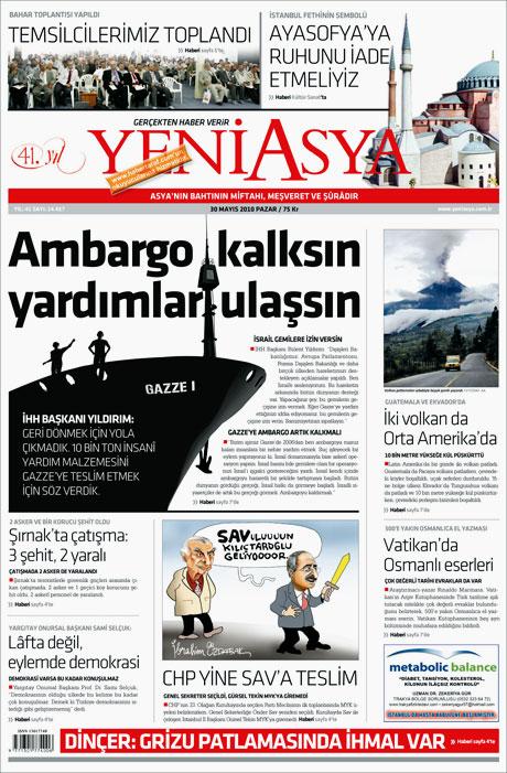 CHP'deki Tekin-Sav savaşı Manşetlerde galerisi resim 15