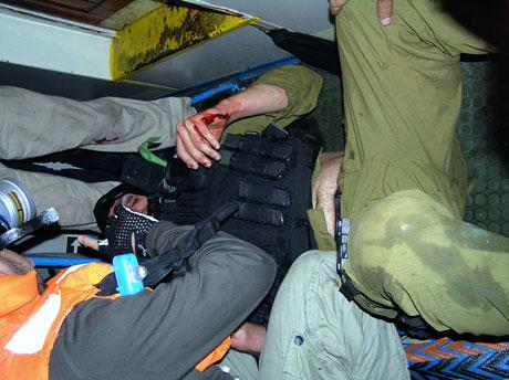 İsrail'in imajı yerlerde: Ağlayan komando! galerisi resim 7