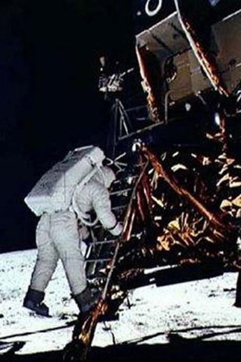 40 yıl önce Ay'da ilk adımlar galerisi resim 12