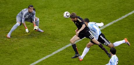 Almanya Arjantin'i parçaladı: 4-0 galerisi resim 9