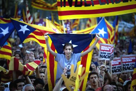 1 milyon Katalon 'biz ulusuz' dedi galerisi resim 8