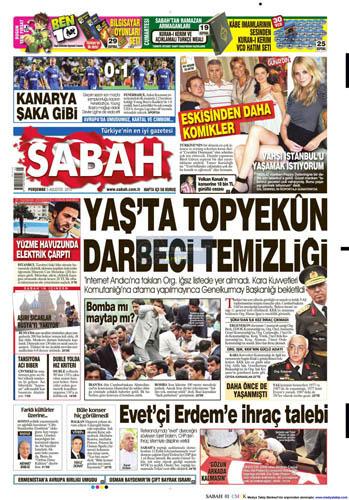 Gazetelerin müthiş YAŞ manşetleri galerisi resim 12