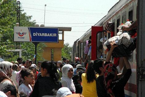 Diyarbakır Garı'ndan, umuda yolculuk galerisi resim 5