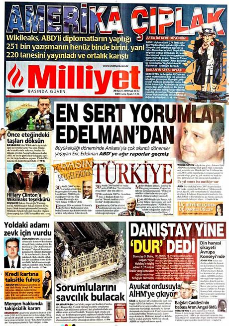 Türk basınında Wikileaks manşetleri galerisi resim 10