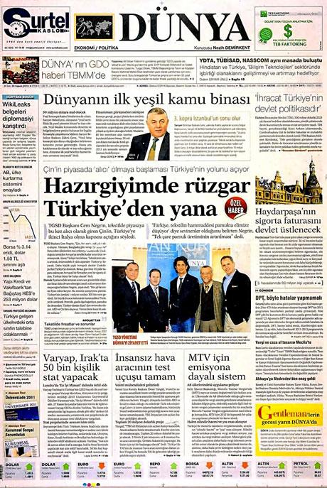 Türk basınında Wikileaks manşetleri galerisi resim 5