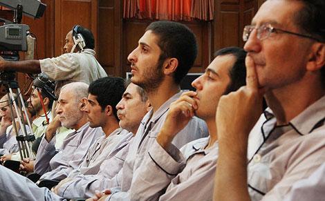 İran'da göstericiler yargılanıyor galerisi resim 9