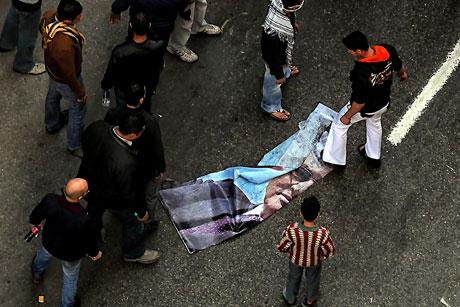 Mısır'da Mübarek iktidarı sallanıyor galerisi resim 24