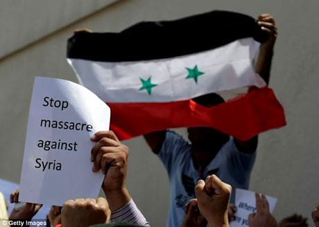 Suriye'de isyan ateşi alevlendi! galerisi resim 8
