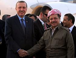 Erdoğan'a Hewler ve Irak'ta yoğun ilgi...