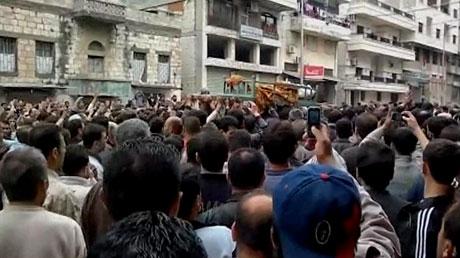 Suriye'de gösteriler büyüyor galerisi resim 1
