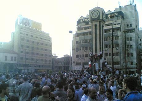 Suriye'de gösteriler büyüyor galerisi resim 32