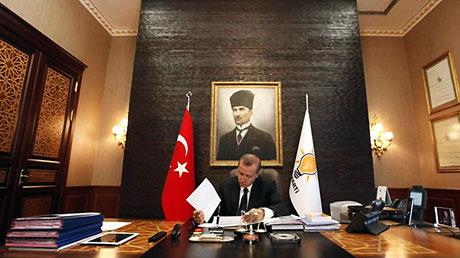 İşte Erdoğan'ın lüks çalışma ofisi galerisi resim 5