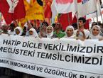 YSK'ya Diyarbakır ve Taksim'de protesto