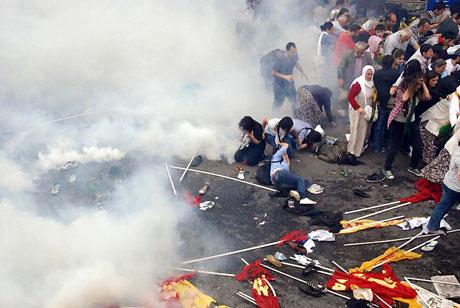 Şişli karıştı, Polisten vekillere biber gazı! galerisi resim 8