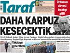 Türk basınında 'İstifa' depremi!