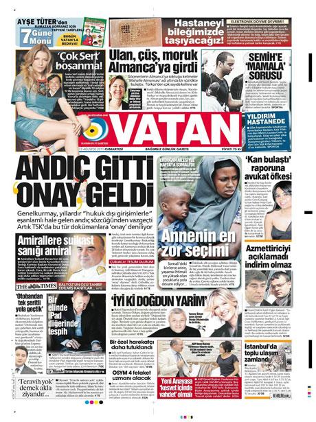 Mehmet Ağar bu manşeti sevmeyecek! galerisi resim 19