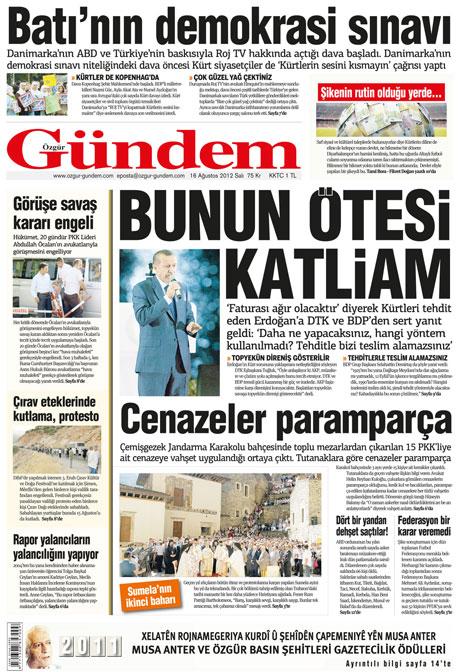 Günün gazete manşetleri! galerisi resim 23