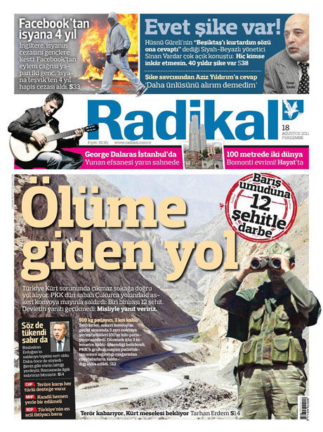 Türk medyasında Kandil manşetleri galerisi resim 12