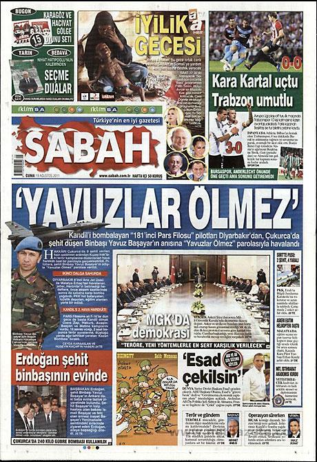 Yeni Şafak'tan BDP'ye manşet'ten cevap! galerisi resim 13