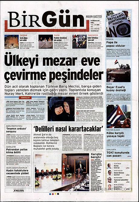 Yeni Şafak'tan BDP'ye manşet'ten cevap! galerisi resim 2