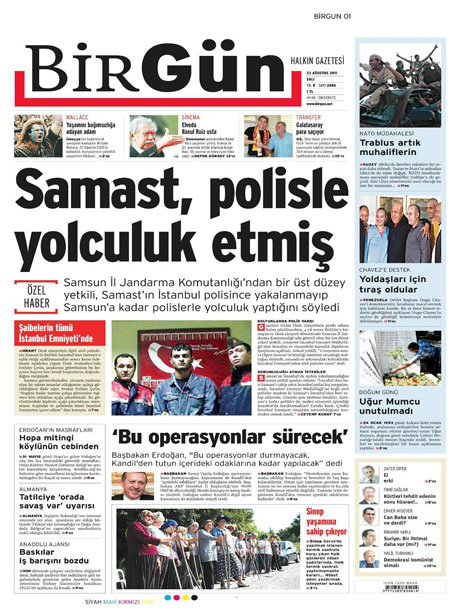 Günün önemli gazete manşetleri (23.08.11) galerisi resim 3