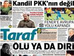 Günün önemli gazete manşetleri (25.08.11)
