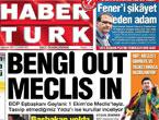 Günün önemli gazete manşetleri (27.08.11)