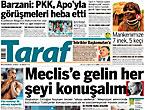 Günün önemli gazete manşetleri (29.08.11)