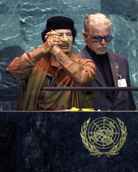 Kaddafi'den Kitapçık Şov galerisi resim 11