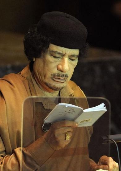 Kaddafi'den Kitapçık Şov galerisi resim 2