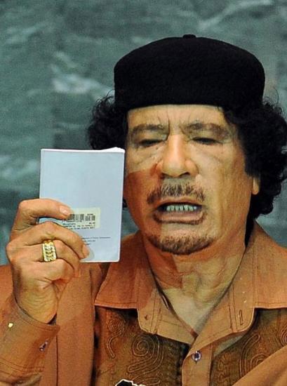Kaddafi'den Kitapçık Şov galerisi resim 4
